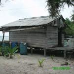 Pos jaga di P. Momperang